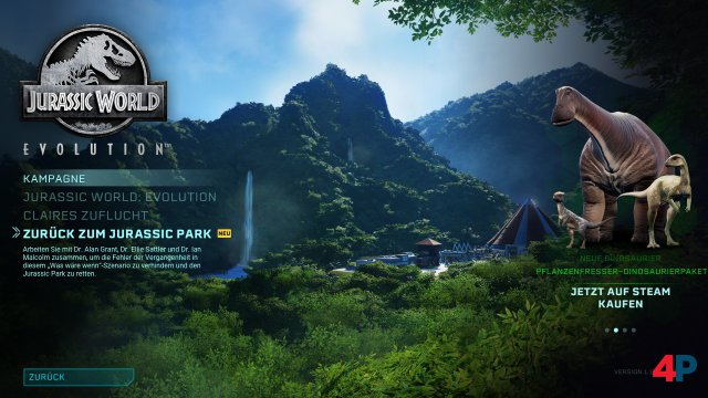 Screenshot - Jurassic World Evolution: Return to Jurassic Park (PC)