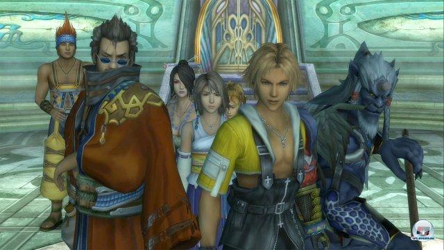 Demnächst werden Final Fantasy 10 und 10-2 als HD-Collection wieder veröffentlicht.