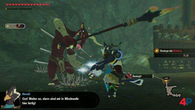 Screenshot - Hyrule Warriors: Zeit der Verheerung (Switch) 92629197