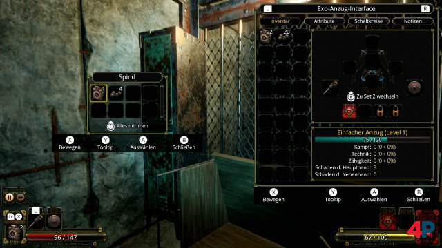 Screenshot - Vaporum: Lockdown (Switch) 92638384