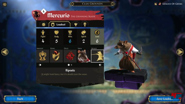 Screenshot - Armello (Linux)