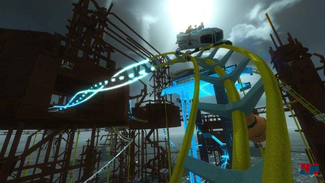 Screamride steht für verzwirbelte Achterbahn und ein gutes Geschwindigkeitsgefühl.