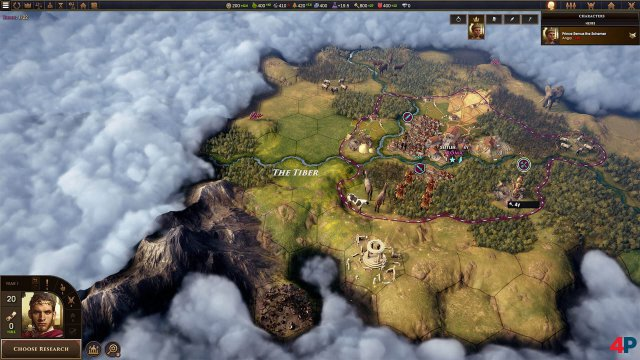 In Old World trifft Civilization auf Crusader Kings.