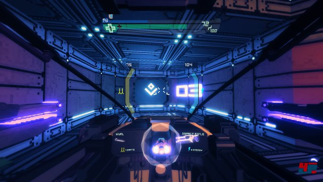 Screenshot - Sublevel Zero (PS4)