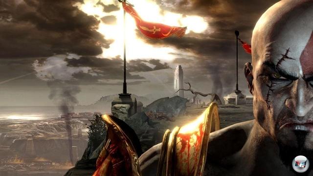 Nachdem Kratos im zweiten Teil seinem Vater Zeus die Gefolgschaft verweigerte und dafür getötet wurde, wird der auferstandene Kratos natürlich das anstreben, was sich wie ein roter Faden durch die griechische Mythologie zieht: Den klassischen Vatermord. 2072168