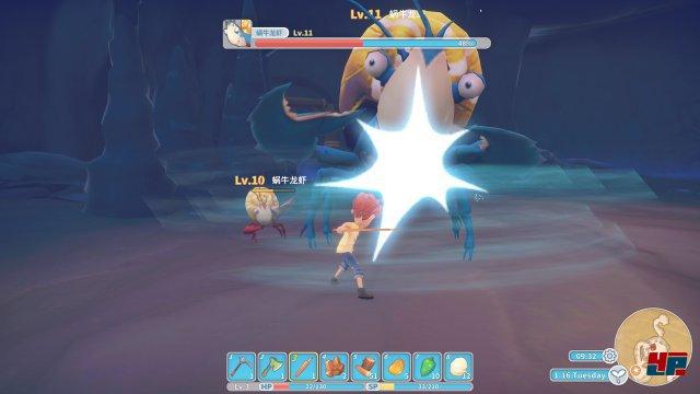 Giant Enemy Crab! Nicht nur die PS4-Umsetzung bekommt derartige Monster. Zu Beginn spielen die Kämpfe allerdings kaum eine Rolle.