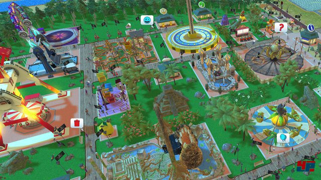 Screenshot - RollerCoaster Tycoon Adventures (Switch)
