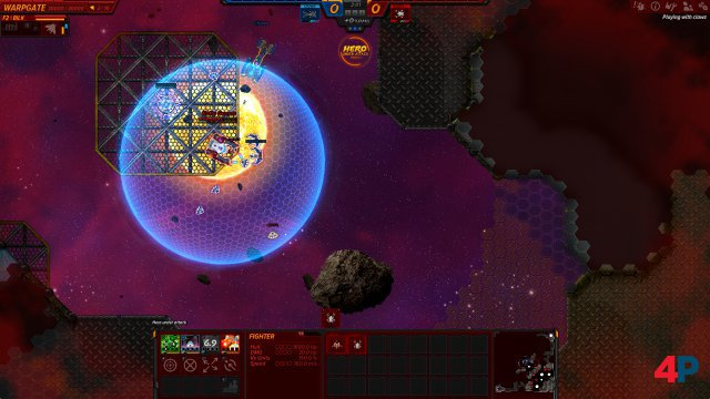 Screenshot - Asteroid Fight (PC) 92610025
