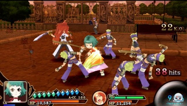 Screenshot - Tales of the Heroes: Twin Brave (PSP) 2315147