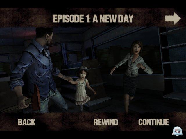 Screenshot - The Walking Dead (iPad)