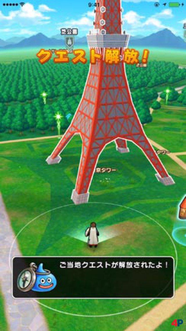 Screenshot - Dragon Quest Walk (Android)