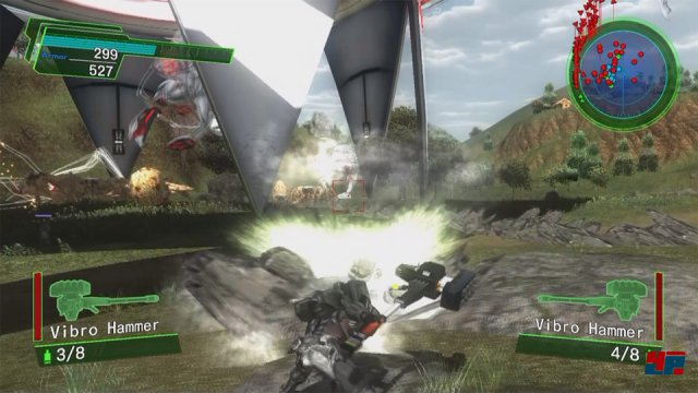 Screenshot - Earth Defense Force 4.1: The Shadow of New Despair (PlayStation4)