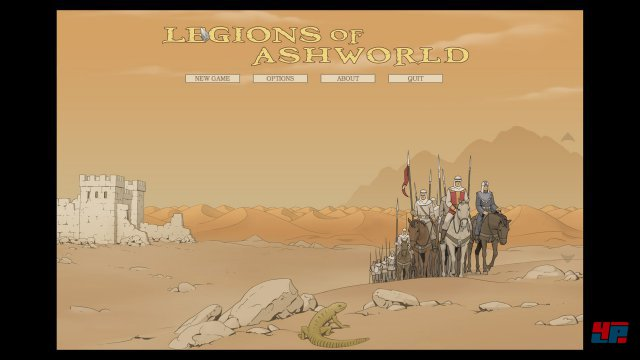 Screenshot - Legions of Ashworld (PC)