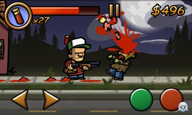 Screenshot - Zombieville USA (Android)