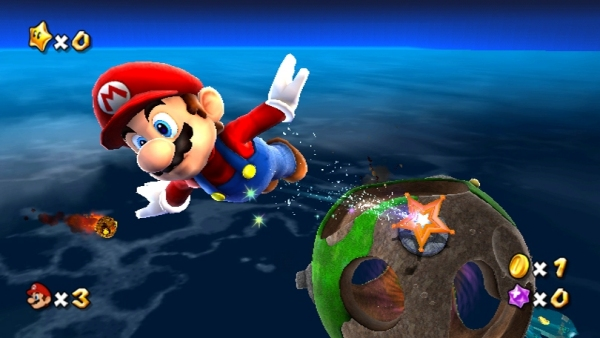 Super Mario Galaxy (2007)<br><br>Noch mehr gab's für Miyamotos neuesten Streich, der Mario auf Nintendos neuem Flaggschiff Wii gleich mal von Planet zu Planet hopsen lässt! 94%! Verdammt wenig Spiele kassieren bei uns eine derartig hohe Wertung. Und das trotz Marios lächerlichem Biene Majo-Kostüm... 1724688