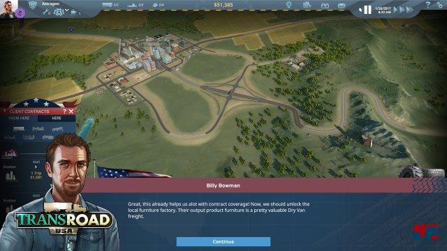 Screenshot - TransRoad: USA (Mac) 92554009