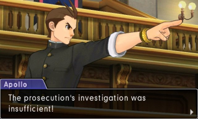Screenshot - Phoenix Wright: Ace Attorney - Spirit of Justice (3DS)
