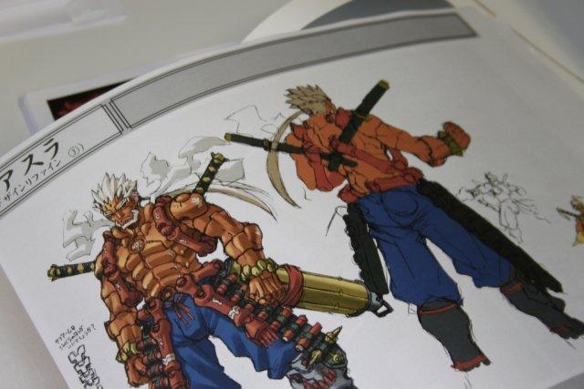 Alte Konzepte <br><br> Im Rahmen der Studiotour durften wir auch einen Blick auf alte Konzeptzeichnungen werfen. Demnach wurde Asura ursprünglich als alter Mann entworfen, der sogar mit Nahkampfwaffen in den Krieg zieht. Mittlerweile verlässt sich der Held lieber auf seine Fäuste, um die aufgestaute Wut zu entladen. 2317707