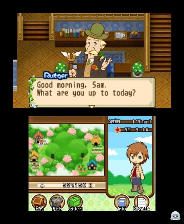 Screenshot - Harvest Moon: The Tale of Two Towns (3DS) 2232218