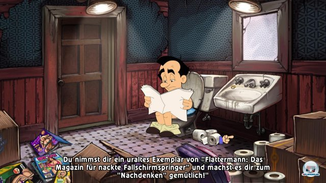 Screenshot - Leisure Suit Larry in the Land of the Lounge Lizards: Reloaded (PC)