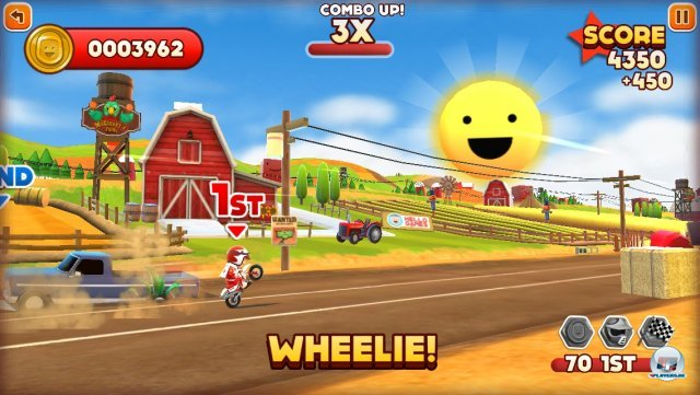 Screenshot - Joe Danger Touch (iPhone)