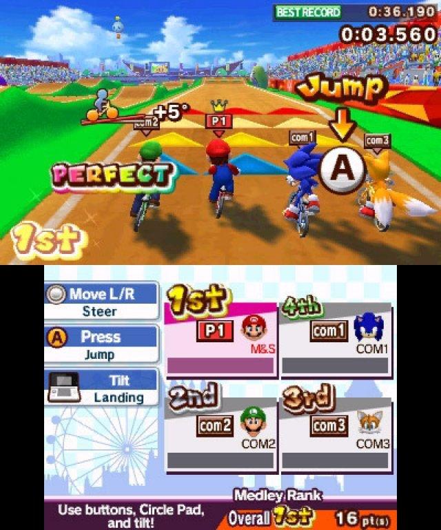 Screenshot - Mario & Sonic bei den Olympischen Spielen: London 2012 (3DS) 2304927