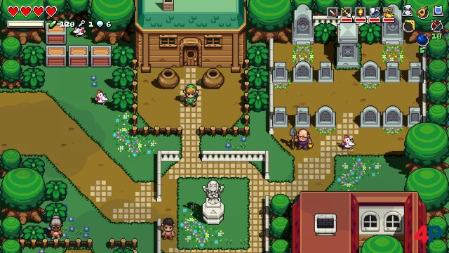 Screenshot - Cadence of Hyrule - Crypt of the NecroDancer Featuring The Legend of Zelda (Switch) 92590719