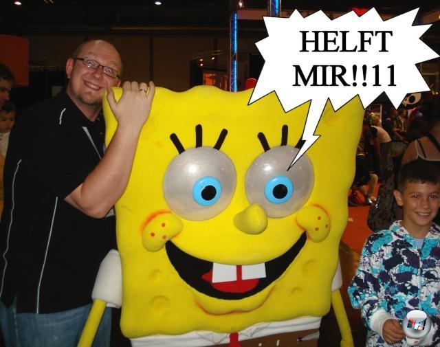 <b>Die Erkenntnis, dass...</b><br><br>...Spongebob einfach der männlichste aller Actionhelden ist. 1847148