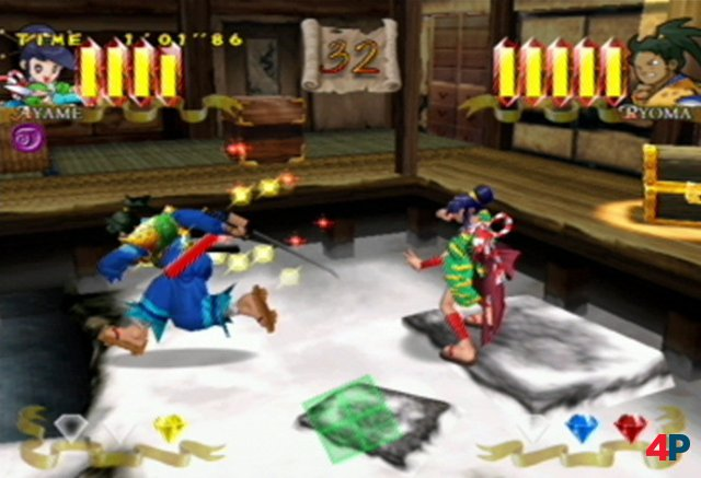 Screenshot - Power Stone (DC)