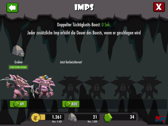 Screenshot - Dungeon Keeper (iPad) 92476581