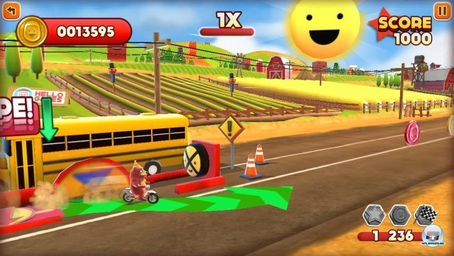 Screenshot - Joe Danger Touch (iPhone) 92439377