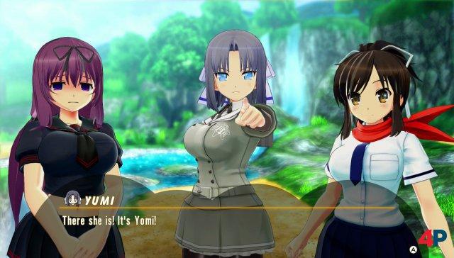 """Braucht ein Flipper-Spiel ausufernde Story-Sequenzen? Die Antwort der Senran-Kagura-Macher lautet: """"Ja!"""""""