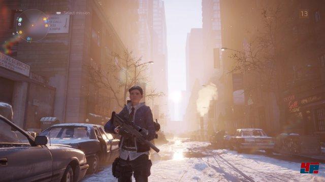 New York lebt vor allem von seinem eindrucksvollen Lichteinfall.