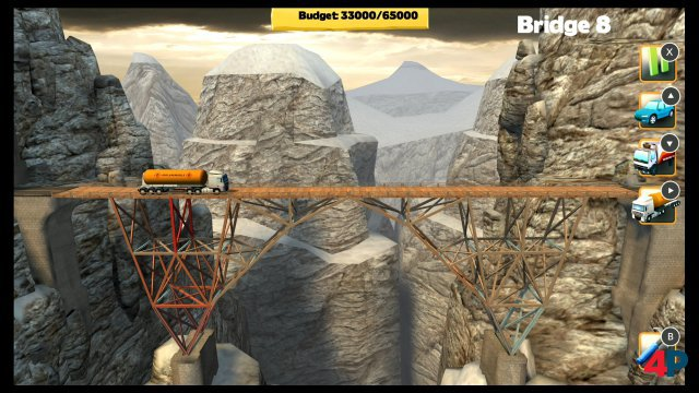 Screenshot - Bridge Constructor (Switch)