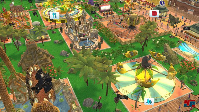 Screenshot - RollerCoaster Tycoon Adventures (Switch)