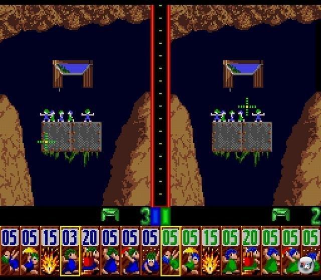 Der Zweispieler-Modus sorgte für viel Chaos und Hektik.