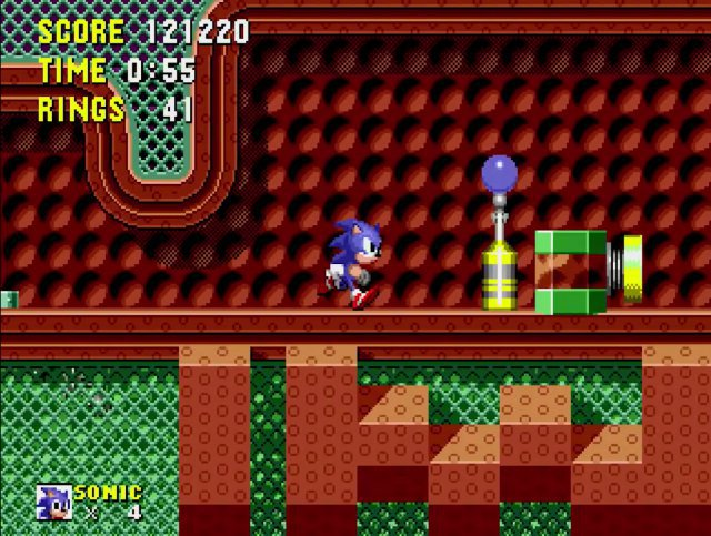 Screenshot - Sonic The Hedgehog (Klassiker) (MegaDrive) 92650870