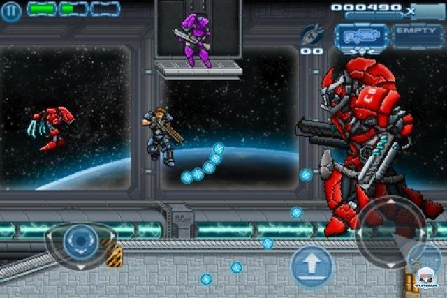Screenshot - Star Marine: Infinite Ammo (iPhone)