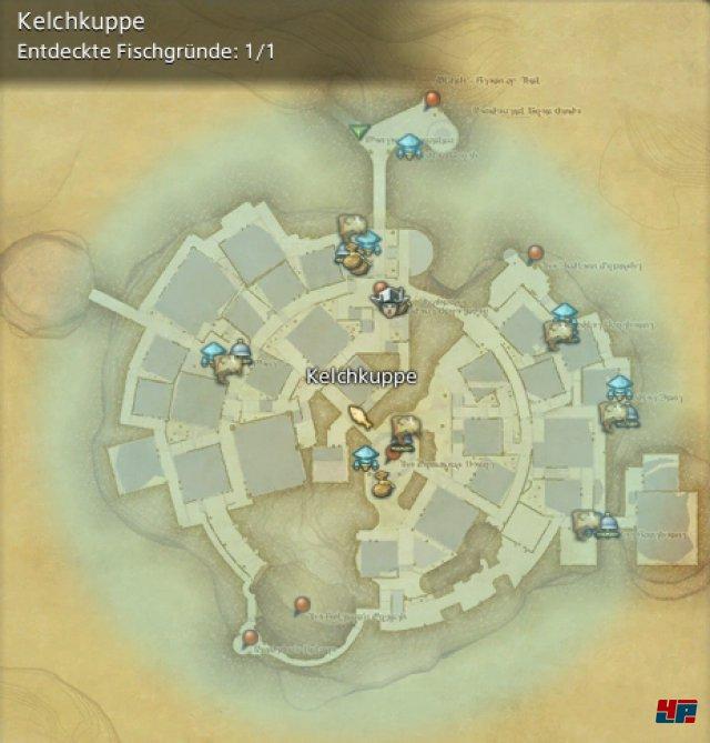 Final Fantasy XIV Online: A Realm Reborn - Fischgründe: Thanalan, Kelchkuppe