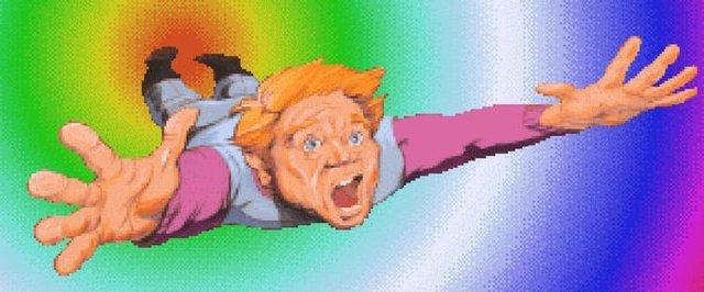 Adventures <br><br> Nicht nur Captain Kirk & Co konnten bei Star Trek: 25th Anniversary die Herzen der Adventure-Fans für sich gewinnen ? auch der Blade Runner zeigte im gleichnamigen Spiel seine Stärken im Rätsel- und Knobelbereich. Mit The Dig überraschte LucasArts in Zusammenarbeit mit Steven Spielberg darüber hinaus mit einer ungewöhnlich ernsten Seite. Das genaue Gegenteil ist bei den Abenteuern von Roger Wilco der Fall: Hier wird von Alien über Star Wars bis hin zu Star Trek alles durch den Kakao gezogen, was im Genre Rang und Namen hat. Auch der knuffige Floyd sorgt auf seiner Reise für einige Lacher. 2313047