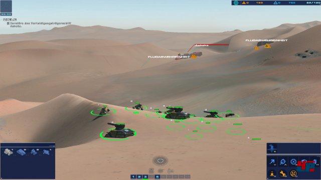 Höhenunterschiede spielen in der zerklüfteten Wüste eine große Rolle.