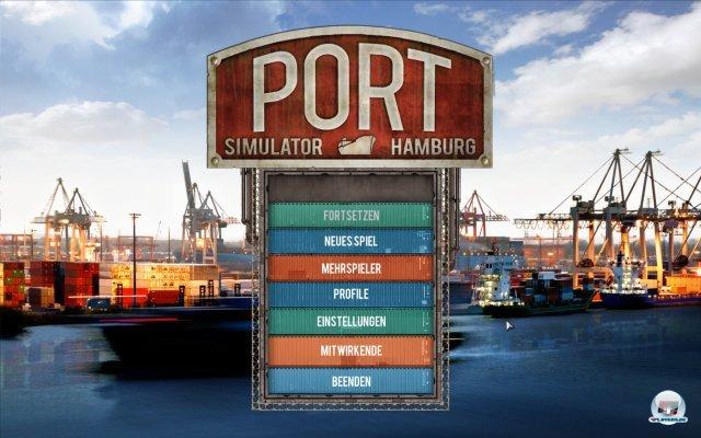 Screenshot - Hafen Simulator 2012: Hamburg  (PC)