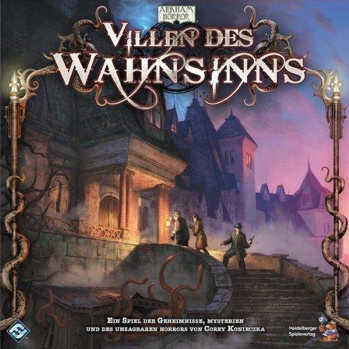 Villen das Wahnsinns (Mansions of Madness) ist für knapp 50 Euro beim Heidelberger Spielverlag erschienen.