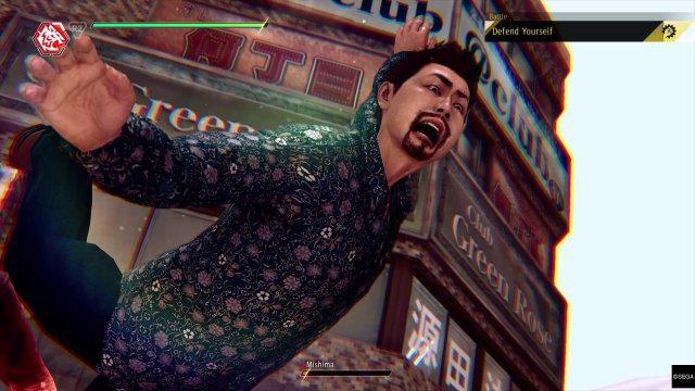 Takayuki hat akrobatisch einiges auf dem Kasten - und verlangt von seinen Gegngern gern das gleiche.
