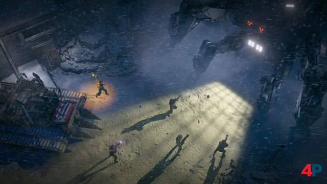 Screenshot - Wasteland 3 (Linux)