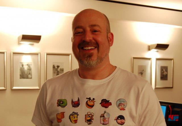 Technical-Art-Director Mark Stevenson hat einen Teil der Figuren designt und stand uns in Berlin Rede und Antwort.