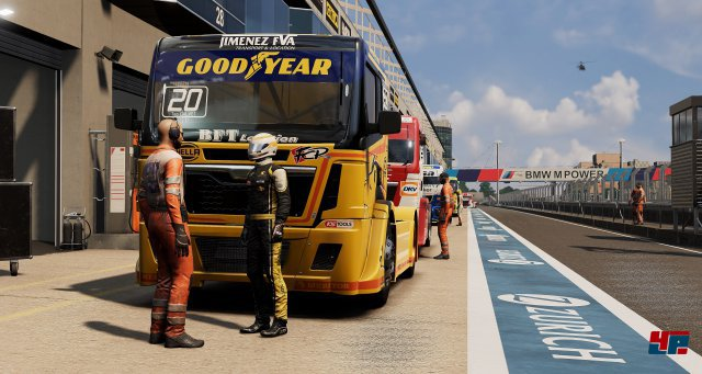 Screenshot - FIA European Truck Racing Championship (PC)