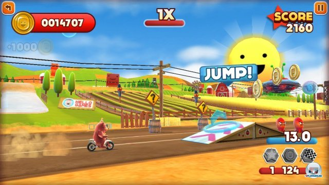 Screenshot - Joe Danger Touch (iPhone) 92439382