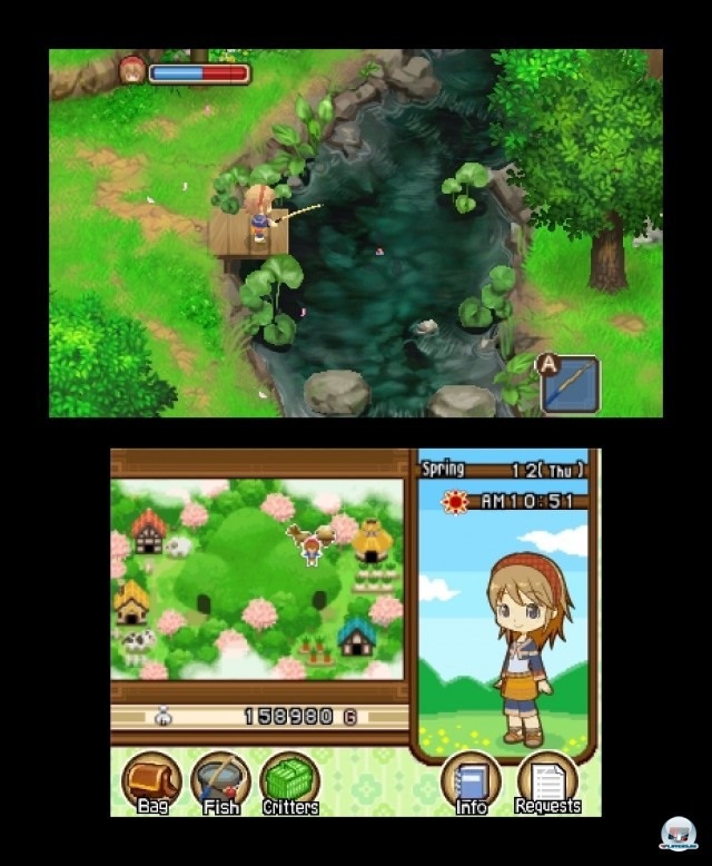 Screenshot - Harvest Moon: The Tale of Two Towns (3DS) 2232172
