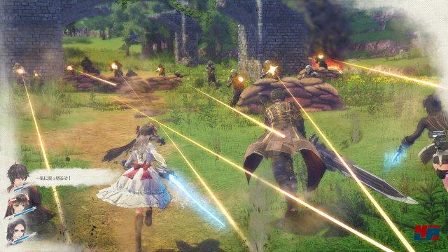 Screenshot - Valkyria: Azure Revolution (PlayStation4) 92516789